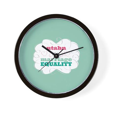 Utahn for Equality Wall Clock