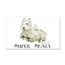 Super Sealyham Terrier Car Magnet 20 x 12