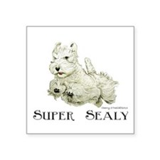 Super Sealyham Terrier Sticker