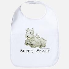 Super Sealyham Terrier Bib
