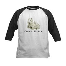 Super Sealyham Terrier Baseball Jersey