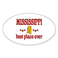 Mississippi Best Decal