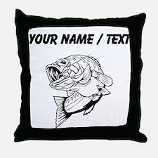 Custom Bass Throw Pillow