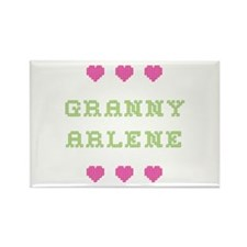Granny Arlene Rectangle Magnet
