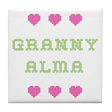 Granny Alma Tile Coaster