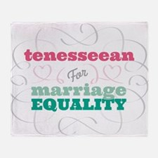 Tenesseean for Equality Throw Blanket