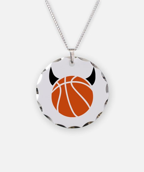 Basketball devil Necklace