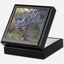 Lemur Line Keepsake Box