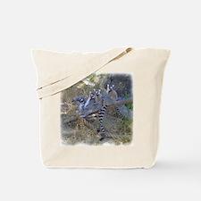 Lemur Line Tote Bag