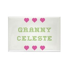 Granny Celeste Rectangle Magnet