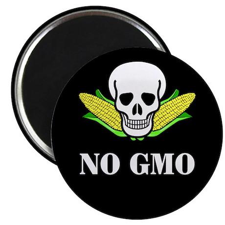 """NO GMO 2.25"""" Magnet (10 pack)"""