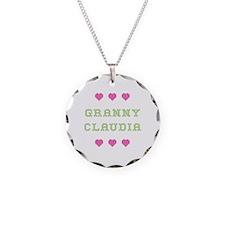 Granny Claudia Necklace Circle Charm