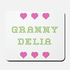 Granny Delia Mousepad