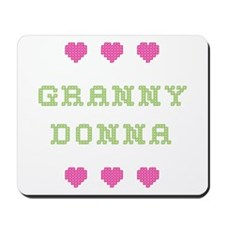 Granny Donna Mousepad