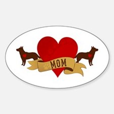 Cattle Dog Mom Decal