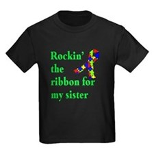 Autism Ribbon for Sister T