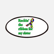 Autism Ribbon for Sister Patches