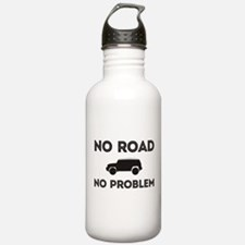 FJ Cruiser No road No Problem Water Bottle