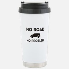 FJ Cruiser No road No Problem Travel Mug
