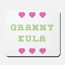 Granny Eula Mousepad