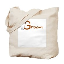 Golfer Groom Tote Bag