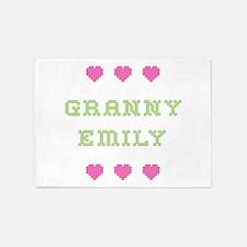 Granny Emily 5'x7' Area Rug