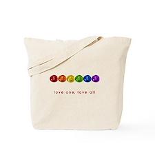 Pride Love Rocks Tote Bag