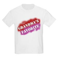 Grandma's Favorite Kids T-Shirt