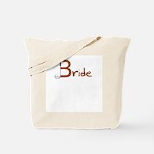 Golf Bride Tote Bag