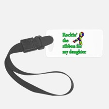 Autism Ribbon for My Daughter Luggage Tag