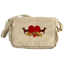 Bull Terrier Mom Messenger Bag