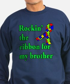 Autism Ribbon for My Brother Sweatshirt