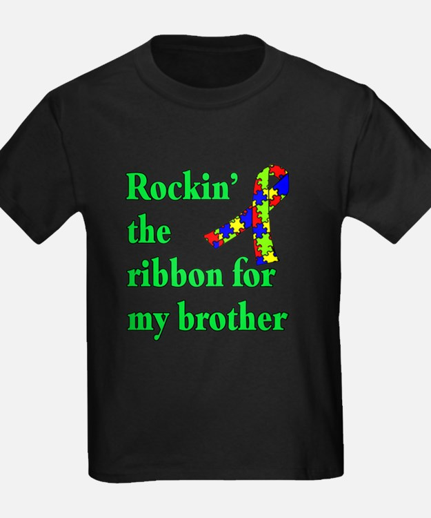 Autism Ribbon for My Brother T