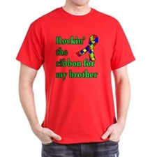 Autism Ribbon for My Brother T-Shirt