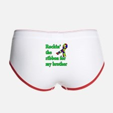 Autism Ribbon for My Brother Women's Boy Brief