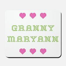 Granny Maryann Mousepad