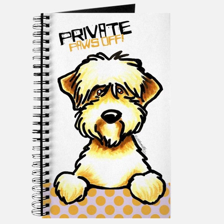 SC Wheaten Terrier Paws Off Journal