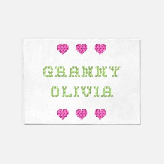 Granny Olivia 5'x7' Area Rug