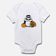 Pilgrim Girl Penguin Infant Bodysuit