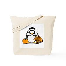 Pilgrim Girl Penguin Tote Bag