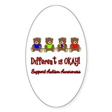 Autism - Different is OK Decal