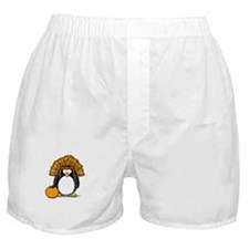 Indian Chief Penguin Boxer Shorts