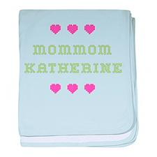 MomMom Katherine baby blanket