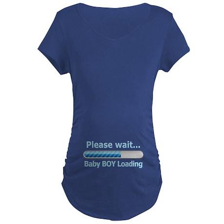 Baby BOY Loading! Maternity T-Shirt
