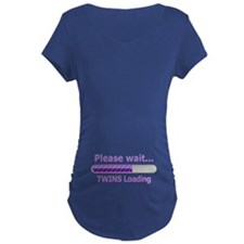 Baby TWINS Loading! Maternity T-Shirt