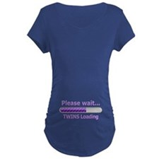 Baby TWINS Loading! Maternity T-Shirt