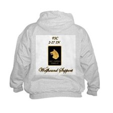 Proud Wolfhound Support Hoodie