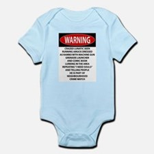 Lunatic Warning Body Suit