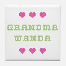 Grandma Wanda Tile Coaster