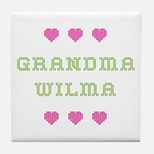Grandma Wilma Tile Coaster